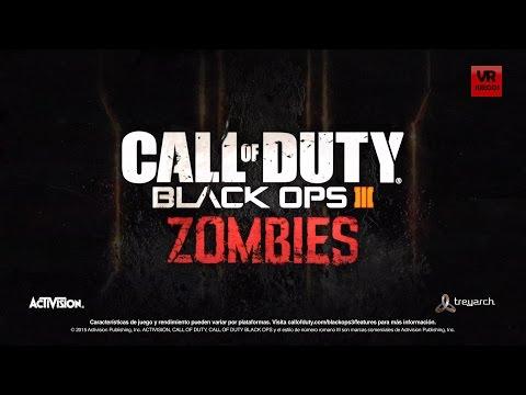 COD BLACK OPS 3 EN ESPAÑOL Trailer zombies VR JUEGOS