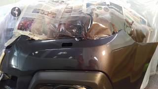 Локальный ремонт бампера Субару Аутбэк