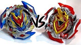 BATTLE: Winning Valkyrie .12.Vl VS Z Achilles .11.Xt - Beyblade Burst Super Z/ChoZ