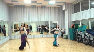 """Открытый урок в школе восточных танцев """"Тальяна"""" 3 февраля 2016"""