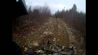 GoPro HD: Ride of ATV near La Tuque