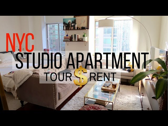 New York City Studio Apartment Tour And How Much Is Rent Here A Of My Nyc We Pay In Monthly
