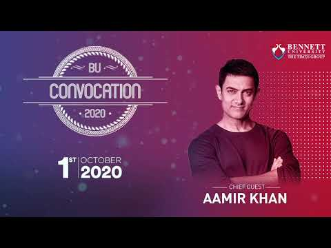 Inspiring Convocation Address by Chief Guest Aamir Khan