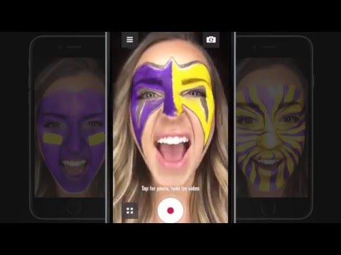 Nissan Diehard App - Paint Your Game Face