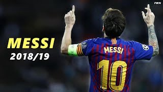 Lionel Messi - The Best -  Amazing Skills, Assists & Goals 2019