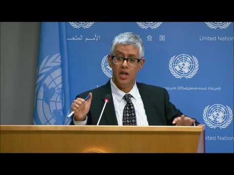 ICP Asks UN About Fayyad, Why DPKO French 4 Times in a Row, Burundi, CAR, Afghan, Ban Ki-moon
