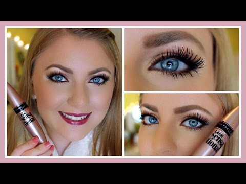 ae853bb7b77 Review & Demo: Maybelline Lash Sensational Mascara - YouTube