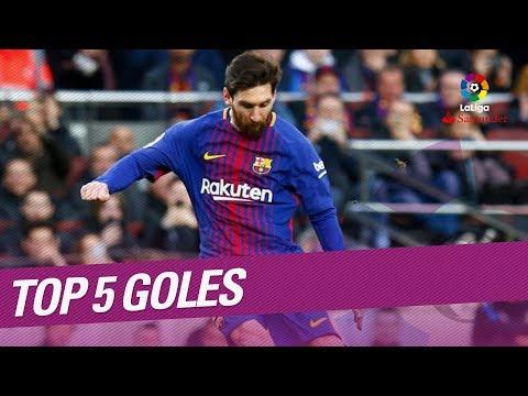 TOP 5 Goles Jornada 27 LaLiga Santander 2017/2018