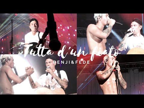 TUTTA D'UN FIATO + FINALE - BENJI� LIVE