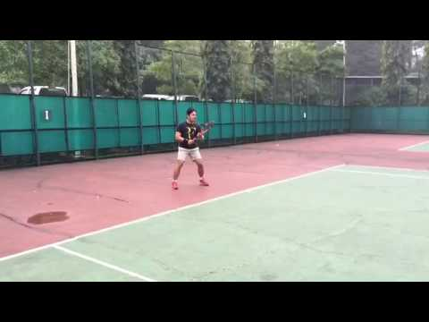forehand tennis Indonesia
