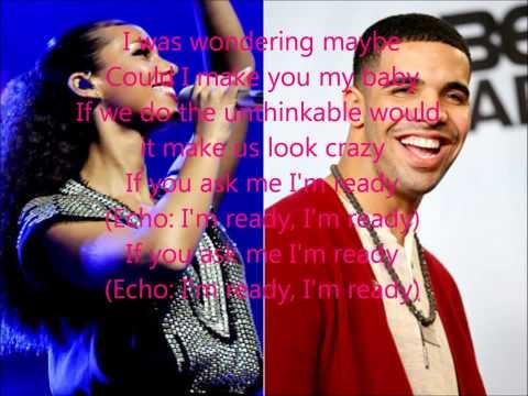 Unthinkable Remix  Alicia Keys ft Drake with lyrics