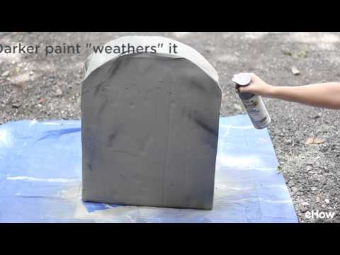 How to Make Cardboard Tombstones