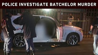 Well-known former Kaizer Chiefs soccer player Marc Batchelor was shot dead in Olivedale in what appears to have been a hit, police confirmed with Eyewitness News on Monday night.  Pictures from the scene showed that multiple shots were fired through the car window.  It's understood the attackers opened fire on a white BMW X5 from the back of motorbikes.