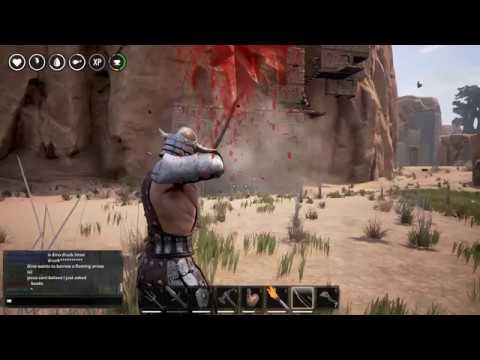conan exiles how to break open vault without explosive
