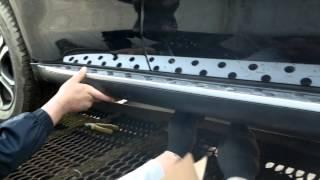 видео Накладки и молдинги для Mitsubishi Outlander 3 [2-й рестайлинг] (2015-2017)