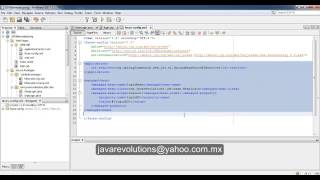 JSF(Java Server Faces) 2 + Hibernate 3 + Spring 3 Parte 1