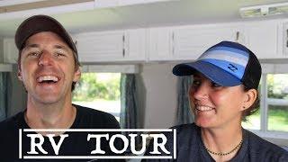 RV Tour 32 Feet BunkHouse Class A vs 5th Wheel vs Travel Trailer! Scottsdale RV Show