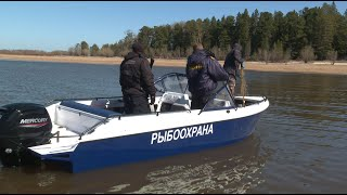 Сети под запретом На реках Югры проходят рейды рыбоохраны