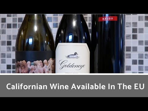 California Wines Available In The EU