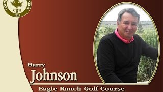 Harry Johnson, 2013 CGA Senior Player of the Year