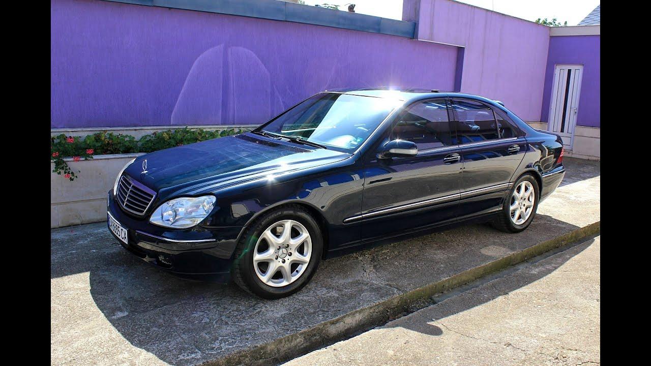 Mercedes S320 Cdi W220 197hp Full Hd Youtube