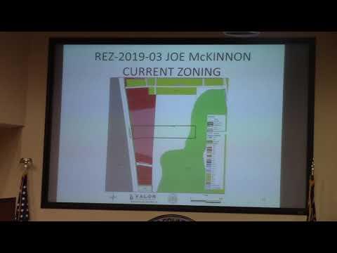 6c. REZ-2019-03 Joe and Liska McKinnon, 2781 Madison Hwy. C-G/E-A/CON