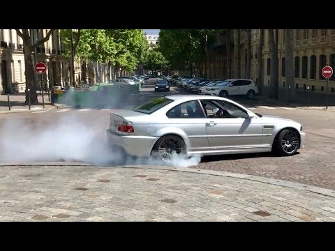 BMW M3 E46 terrorizing Paris ( HD )