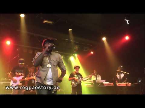 Tarrus Riley - 1/6 - Intro + ... + Human Nature + Love´s Contagious - 04.10.2014 - YAAM Berlin