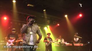 Tarrus Riley - 1/6 - Intro + ... + Human Nature + Love´s Contagious - 04.10.2014 - YAAM Berlin