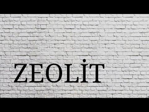 Filtre Malzemeleri: Zeolit
