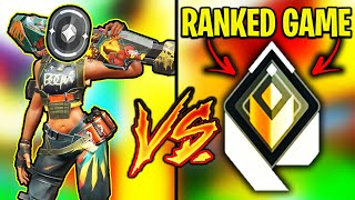 Valorant: We put aฑ IRON in a RADIANT Ranked Game...