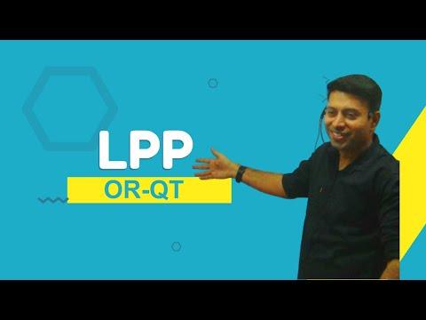 LPP Simplex Method