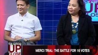 ANC Presents: The Nation Up Close Episode 7: Merci on Trial: Impeachment Case Goes To Senate 5/5