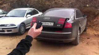 Модуль управления крышкой багажника Audi A8(Открывает/закрывает крышку багажника с кнопки ключа, и из салона Ауди А8 (обычно кнопка расположена на водит..., 2014-04-04T06:38:36.000Z)