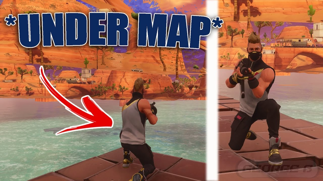 *NEW* Fully Under The Map Glitch | How To Get Under PARIDISE PALMS In Fortnite | FORTNITE GLITCHES