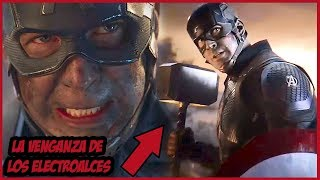 La Verdadera Razón por la que el Capitán América Levantó el Mjolnir ¡Confirmada! – Avengers Endgame