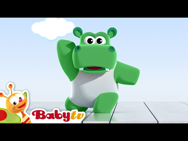 Nijlpaarden dansen ballet -  BabyTV Nederlands
