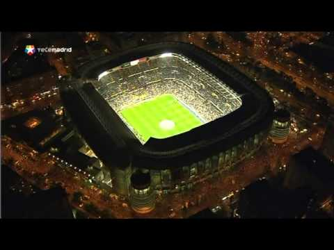 Santiago bernabeu aerial night youtube for Puerta 4 santiago bernabeu