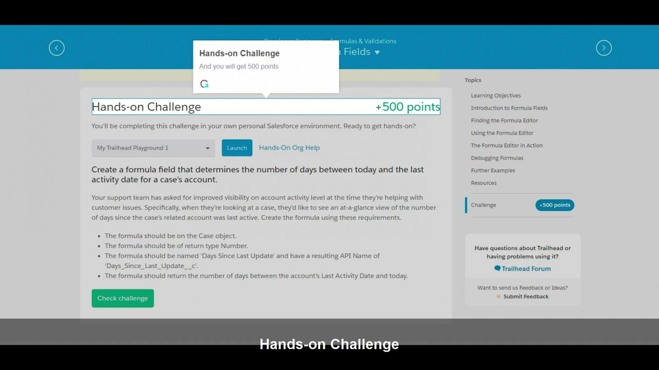 How to take Trailhead Challenges in Salesforce lightning #DF17