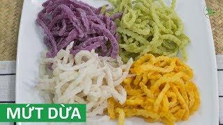 Cách làm Mứt Dừa non dẻo, vị sữa, màu sắc hoàn toàn tự nhiên ngày Tết | Món Việt