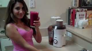 Juice Recipe - Beet, Orange, And Carrot Juice