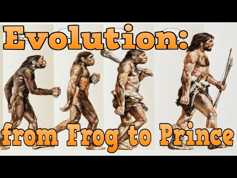 Problems with Darwin's theory of Evolution, Frog to Prince
