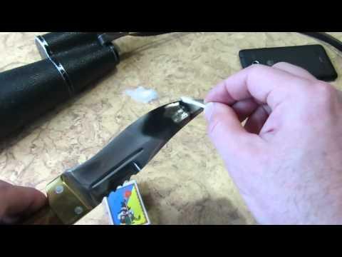 Экстренная чистка оптики простым и удобным способом. Cleaning of lenses