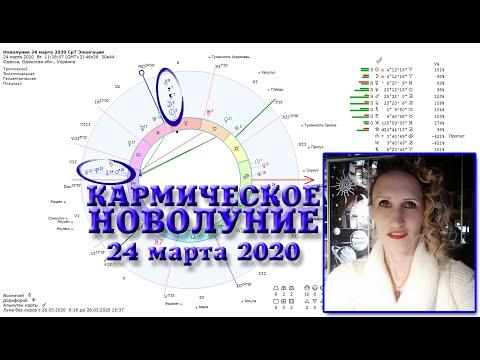 Кармическое новолуние 24 марта 2020_Срединная Точка и Элонгация
