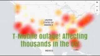 Massive Cell Phone outage across the US.. T-Mobile, Verizon and AT&T