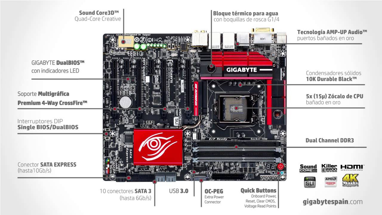 GAZ97XUD3H rev 10  Motherboard  GIGABYTE Global