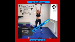 HIIT Strength 8 with Deb (Live)
