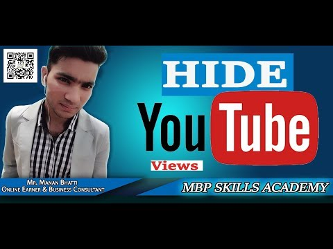 How To Hide YouTube Video Views | Hide YouTube Views