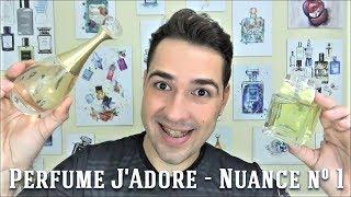 Perfume J'Adore - Dior (Nuancie n°1)