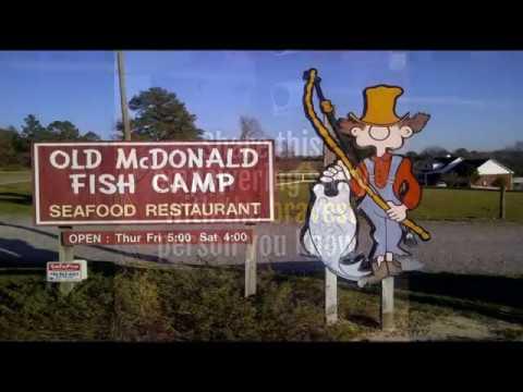 Brave Grandmother Saves Police Officer's Life - Augusta GA Seafood Choice - Old McDonald Fish Camp